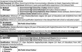 Sukkur IBA University Jobs 2020