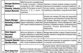 SSGC LPG Jobs & Internships 2020