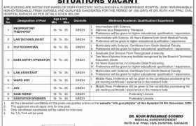 Civil Hospital Karachi Jobs 2020