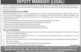 Islamabad Based Organization Jobs 2020