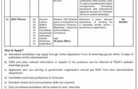Trade Development Authority of Pakistan Jobs 2020