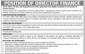 Civil Hospital Karachi Jobs 2020
