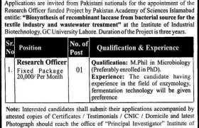 GC Uni Lahore Jobs 2021