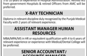 Islam Medical College Jobs 2021