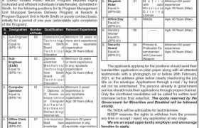 MSDP Sindh Jobs 2021