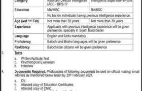 HQ FC Balochistan South Jobs 2021