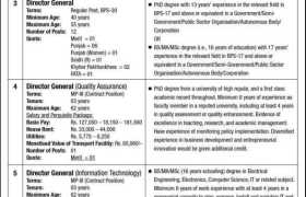 Higher Education Commission Jobs 2021