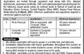 School of Learning & Education Jobs 2021