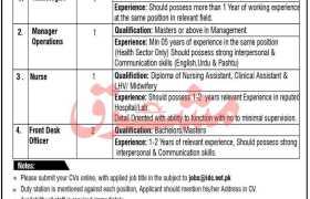 Islamabad Diagnostic Center Swat Jobs 2021