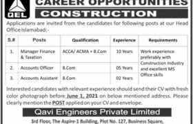 Jobs in Qavi Engineers Private Limited 2021