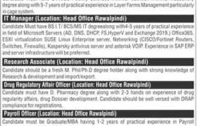 Salman Poultry Pvt Ltd Jobs 2021