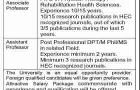University of Faisalabad Jobs 2021