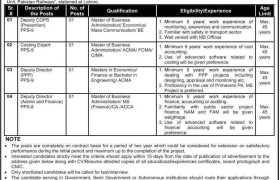 Ministry of Railways Lahore Jobs 2021