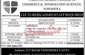PADCIS Nowshehra Jobs 2021