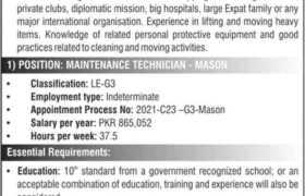 High Commission of Canada Jobs 2021