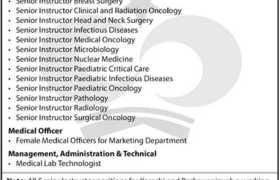 Jobs in Shaukat Khanum Hospital Karachi 2021