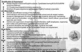 Jobs in Bahria Foundation College Sikareyali 2021