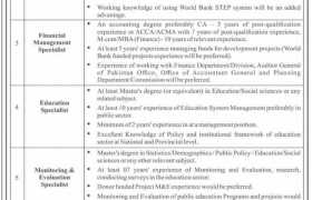 Jobs in KPK Human Capital Investment Project 2021