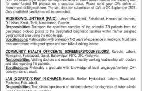 Donor Funded Project Jobs Pakistan 2021