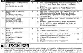 Jobs in Finance Division 2021