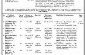 Jobs in UET Taxila 2021