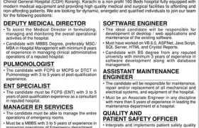 Chiniot General Hospital Jobs 2021