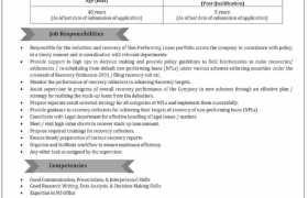 Jobs in HBFC 2021