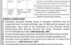 Jobs in Civil Defence KPK 2021