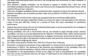 Jobs in GEPCO 2021