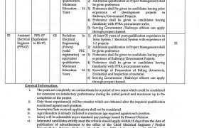 Jobs in Pakistan Railways HQ 2021