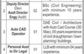 Jobs in Fazaia Housing Scheme Islamabad 2021