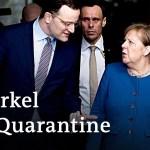 Coronavirus: German Chancellor Merkel self-quarantines, announces further restrictions | DW News