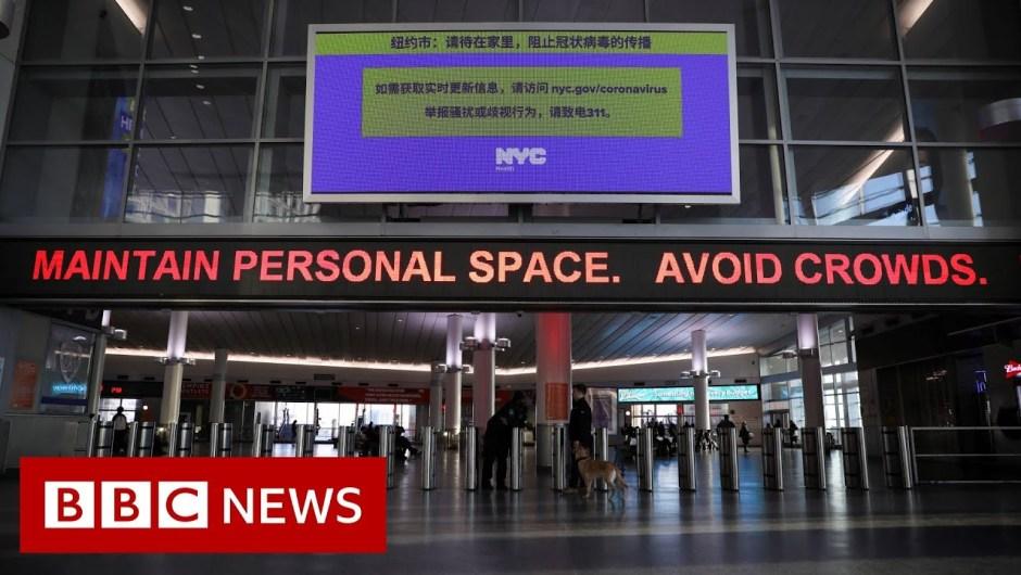 Coronavirus: US overtakes China with most circumstances – BBC Information