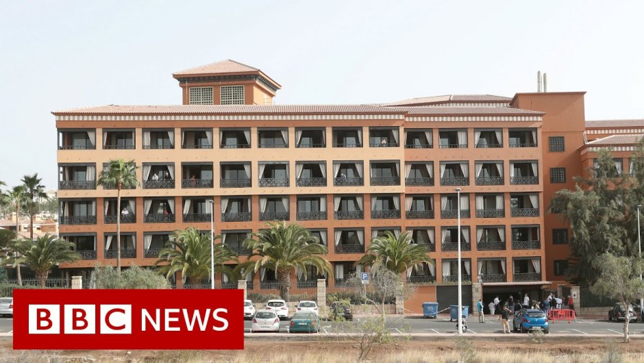 Coronavirus: Britons amongst lots of quarantined in Tenerife lodge – BBC Information