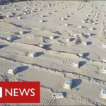 Iraq builds mass grave within the desert as coronavirus deaths surge – BBC Information
