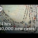 Trump silent as US coronavirus instances soar to new excessive | DW Information