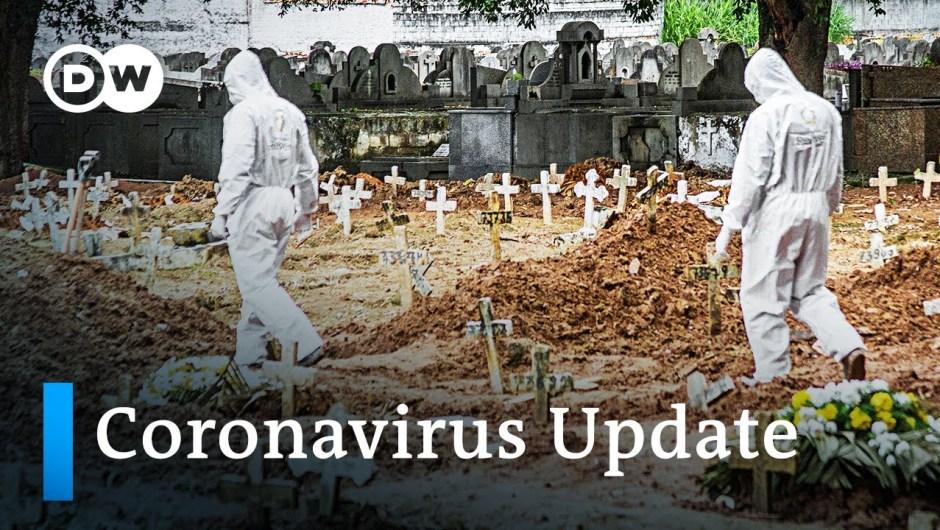 20,000 each day instances in Brazil +++ 5 million coronavirus contractions wordwide   Coronavirus Replace