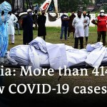 India shatters international file as COVID-19 instances surge once more | DW Information