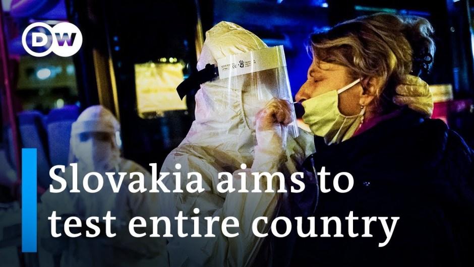 Slovakia strikes to check complete inhabitants for coronavirus | DW Information