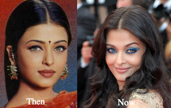 Image result for Aishwarya Rai  before and after pic