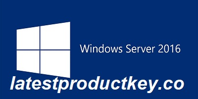 Windows Server 2016 Product Key