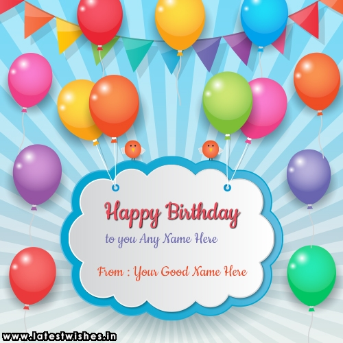 Happy Birthday Wishes Card With Name Edit Page 2 Of 3