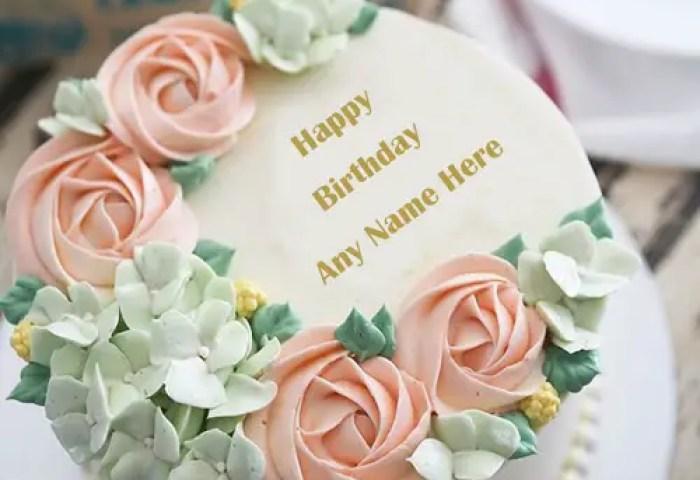 Write Name On Most Beautiful And Stylish Birthday Cake