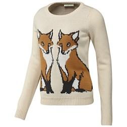 Adidas Women's NEO Lifestyle Apparel FOX SWEATER http://goo.gl/va5POQ