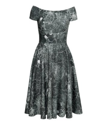 H&M Patterned dress £39.99 http://www.hm.com/gb/product/19773?article=19773-A