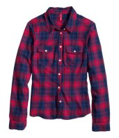 H&M Plaid Shirt http://goo.gl/4ctqs1