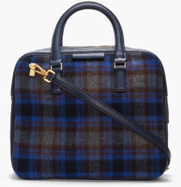 MARC BY MARC JACOBS Blue Rosi Plaid Show Tote http://goo.gl/iMf0qZ