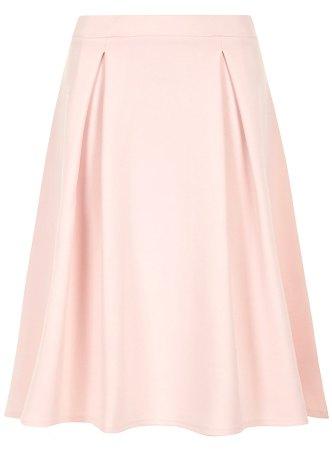 Dorothy Perkins Pale pink pleated midi skirt tiny.cc/7v9p9w