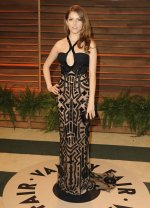 Anna Kendrick in Versace {Vanity Fair Oscar Party}