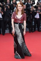 Julianne Moore in custom Louis Vuitton